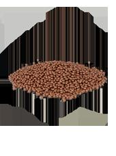 Perles déco Cuivre 3-3,5mm (180g)