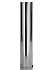 Bougeoir  Inox 6,2x35 cm
