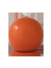 Bougie ronde Citrouille 7cm