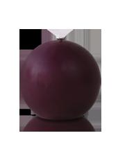 Bougie ronde Prune 7cm