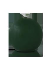 Bougie ronde Vert Sapin 7cm