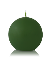 Bougie ronde Vert 7cm