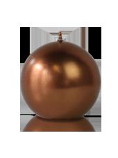 Bougie ronde Bronze 7cm