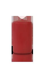 Bougie cylindre Carmin 6x10cm