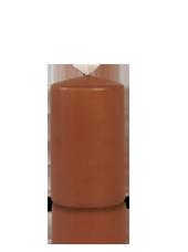 Bougie cylindre Caramel 6x10cm