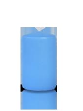 Bougie cylindre Bleu Turquoise 6x10cm