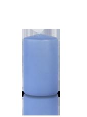 Bougie cylindre Bleu Arctique 6x10cm