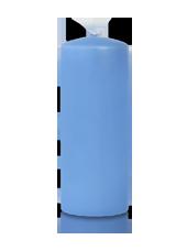 Bougie cylindre Bleu Arctique 6x15cm