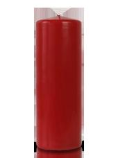 Bougie cylindre Carmin 7x20cm