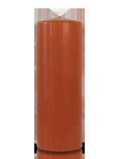 Bougie cylindre Caramel 7x20cm