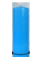 Bougie cylindre Bleu Turquoise 7x20cm