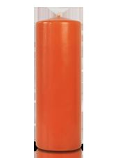 Bougie cylindre Citrouille 7x20cm