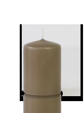 Bougie votive Taupe 5x7cm