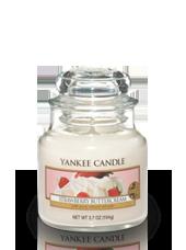 Petite jarre Fraise Chantilly 5,8x8,6cm