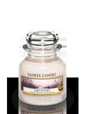 Petite jarre Coucher de Soleil au Bord du Lac 5,8x8,6cm