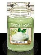 Grande jarre Vanille Citron Vert 10,7x16,8cm