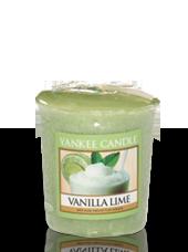 Bougie votive Vanille Citron Vert 4,6x4,8cm