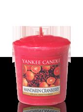 Bougie votive Canneberge Mandarine 4,6x4,8cm