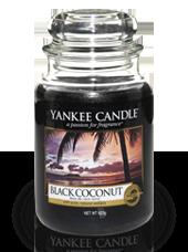 Grande jarre Noix de Coco Noire 10,7x16,8cm