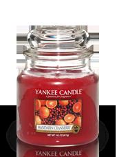Moyenne jarre Canneberge Mandarine 10,7x12,7cm