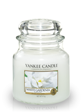 Moyenne jarre Gardenia Blanc 10,7x12,7cm