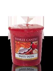 Bougie votive Tarte Tatin 4,6x4,8cm