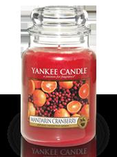 Grande jarre Canneberge Mandarine 10,7x16,8cm