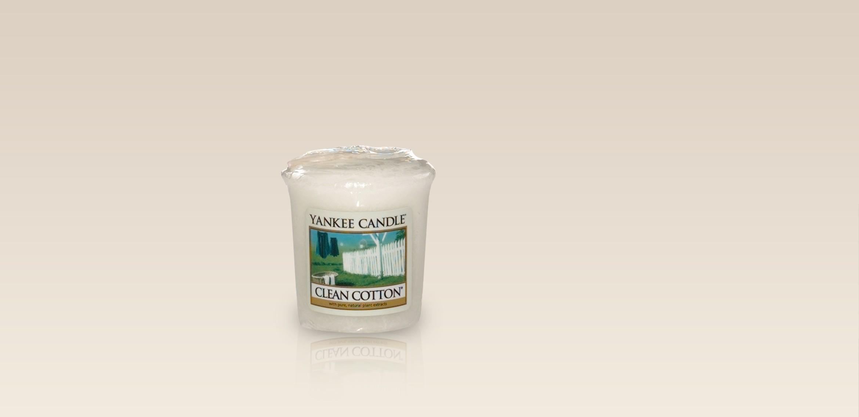 Petite Bougie Decorative Parfum Coton Frais Wecandle