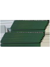 Pack de 12 chandelles Vert Sapin 23x25cm