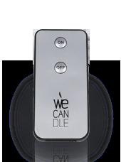 Télécommande pour Bougies LED récepteur