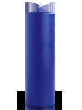 Bougie cylindre Bleu Roi 7x21cm