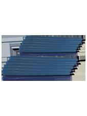 Pack de 12 chandelles Bleu saphir 2,3x25cm