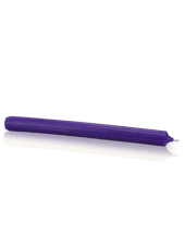 Chandelle premium Violet aubergine 2,2x25cm