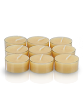 9 bougies chauffe-plat Beige sable