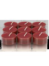 9 bougies chauffe-plat Bordeaux