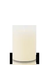 Bougie Rustique Ivoire 8x7cm