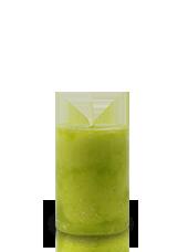 Bougie marbrée Vert Citron 7x5cm