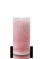 Bougie marbrée Vieux Rose 13x7cm