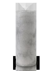Bougie marbrée Gris 18x7cm