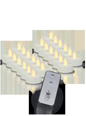 Chauffe-plat LED x24 avec télécommande