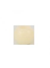 Bougie ronde LED Ivoire 6x5cm