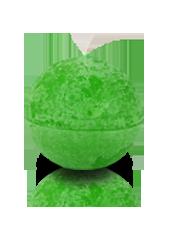 Bougie ronde rustique Vert pistache 6cm