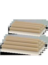 Pack de 16 chandelles premium Poudre 2,2x25cm