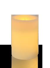 Bougie pilier LED Ivoire 7x10cm