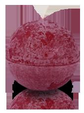 Bougie ronde rustique Bordeaux 8cm