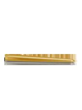 Bougie chandelle métallisée Or 2,5x25cm