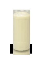 Bougie neuvaine blanche 6,5x15cm