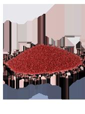 Sable Décoratif Rouge 2-4mm(500g)