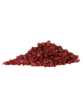 Pierres de Verre Rouge 10mm (500g)