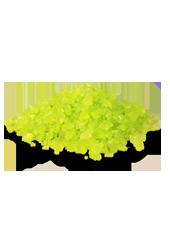 Pierres de Verre Vert 10mm(500g)